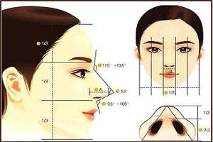 隆鼻的综合塑形效果